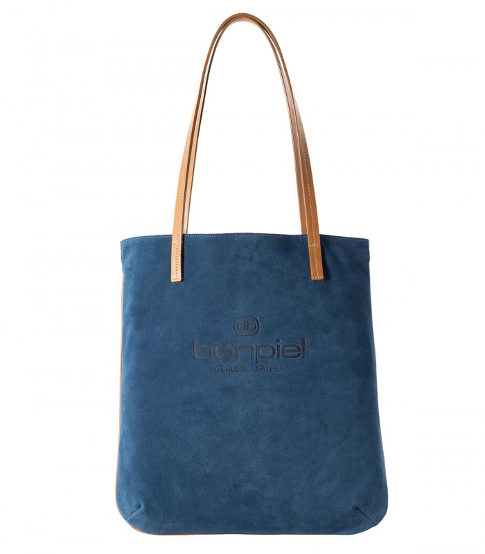 Bolso Kea Piel Azul